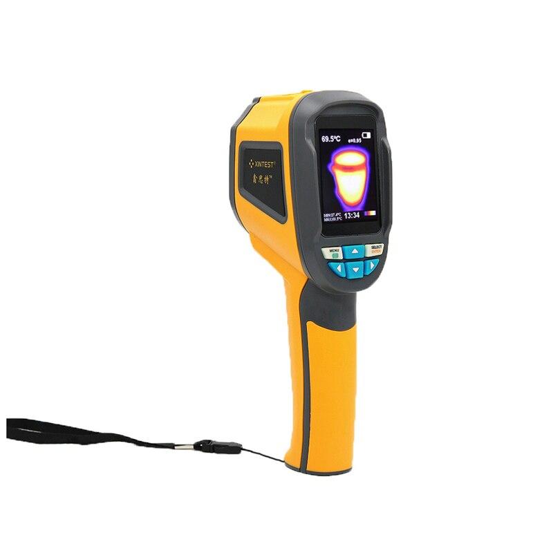 HT02 Tela Colorida de Alta Resolução De Imagens Térmicas Câmera Termômetro Infravermelho Handheld-20 a 300 Graus