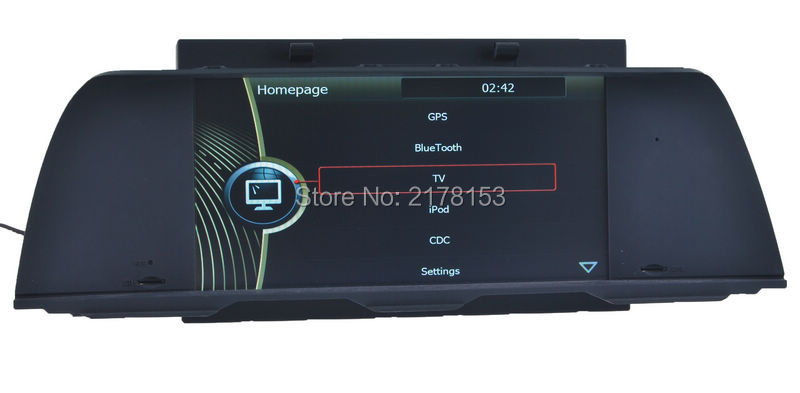 car gps navigation for bmw 5 series f10 2011 2012 with dvd. Black Bedroom Furniture Sets. Home Design Ideas