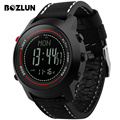 Bozlun Men Sport Fashion Digital Wristwatches Chronograph Thermometer Compass Barometer Watch Waterproof MG03