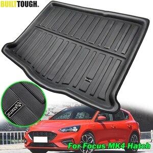 Image 1 - Plataforma de carga automotiva, forro de carga, para ford focus mk4 4 mkiv hatch hatchback 2019 2018, bota traseira, baú acessórios para tapete