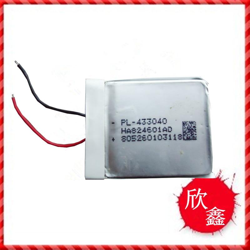 Polymer battery 433040 550MAH Bluetooth monitor font b walkie b font font b talkie b font