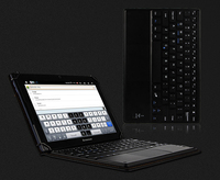 Wireless Bluetooth Keyboard Case For Samsung Galaxy Tab A 10.1 inch P580 P585 Tablet PU Leather + ABS Stand Cover Funda + Pen