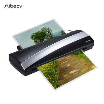 A3 Photo Paper Hot and Cold Thermal Laminator Machine Quick Warm-up Fast Laminating Speed with Pouch Board EU Plug - DISCOUNT ITEM  36 OFF Computer & Office