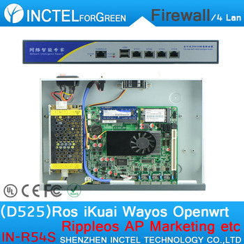 B75 1U router firewall Barebone pos red PC con Intel Pentium G2020 2 9 GHz  CPU 6*1000 m 82583 V LAN