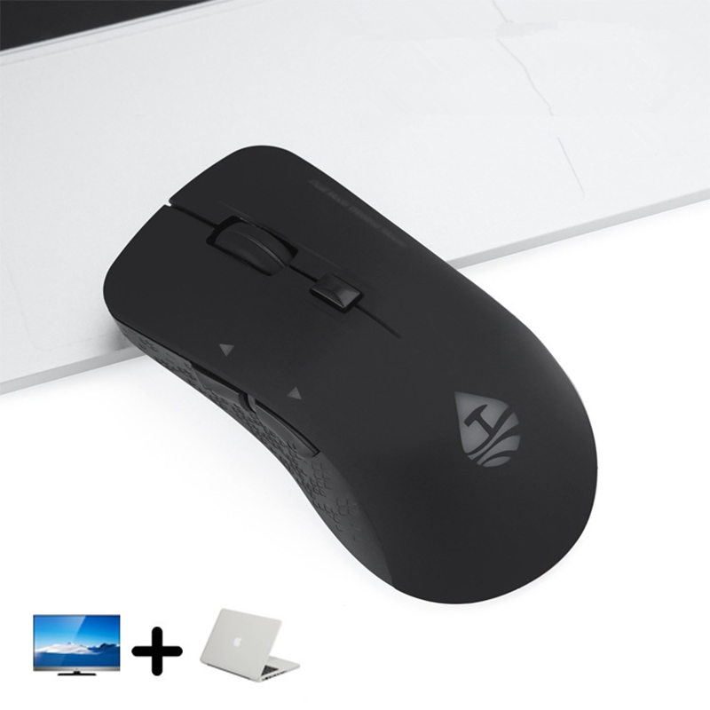 Wireless Mouse Bluetooth 4.0 + RF 2.4Ghz Dual Mode Wireless Mouse USB Rechargeable Computer Bluetooth Mouse Gamer for PC Laptop mini usb bluetooth adapter csr dual mode wireless bluetooth v4 0 dongle transmitter for windows 7 8 10 pc laptop