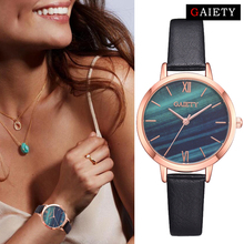 Fashion Malachite Green Dial Creative Leather Band Dress Watches For Women Bracelet Quartz Watch Clock Female Relogio