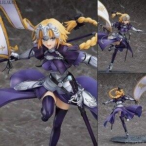 Image 1 - 1pcs Anime Fate Grand Order Jeanne DArc Figure Ruler 7 generation Fate Apocrypha Ruler Joan of Arc 1/7 pvc action figure model