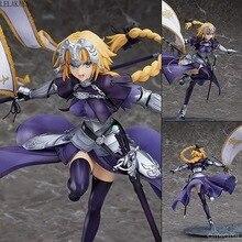 1pcs Anime Fate Grand Order Jeanne d Arc 그림 눈금자 7 세대 Fate Apocrypha Ruler 조안 오브 아크 1/7 pvc 액션 피겨 모델