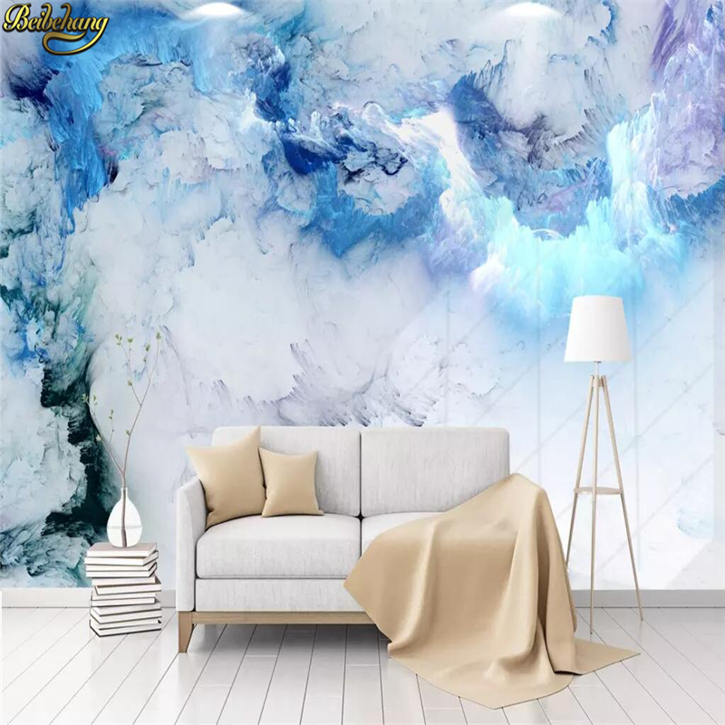 [HOT DEAL] US $15.00 For Beibehang Custom Nordic Abstract Colorful Clouds  3D Photo Wallpaper Bedroom Living Room Background Art Wall Murals Wall Paper