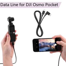 Buy Data Line Type-c To Type-c Android IOS Phone 1 M  Connect Extension Cable Micro-USB for DJI Osmo Pocket Handheld Gimbal Parts directly from merchant!