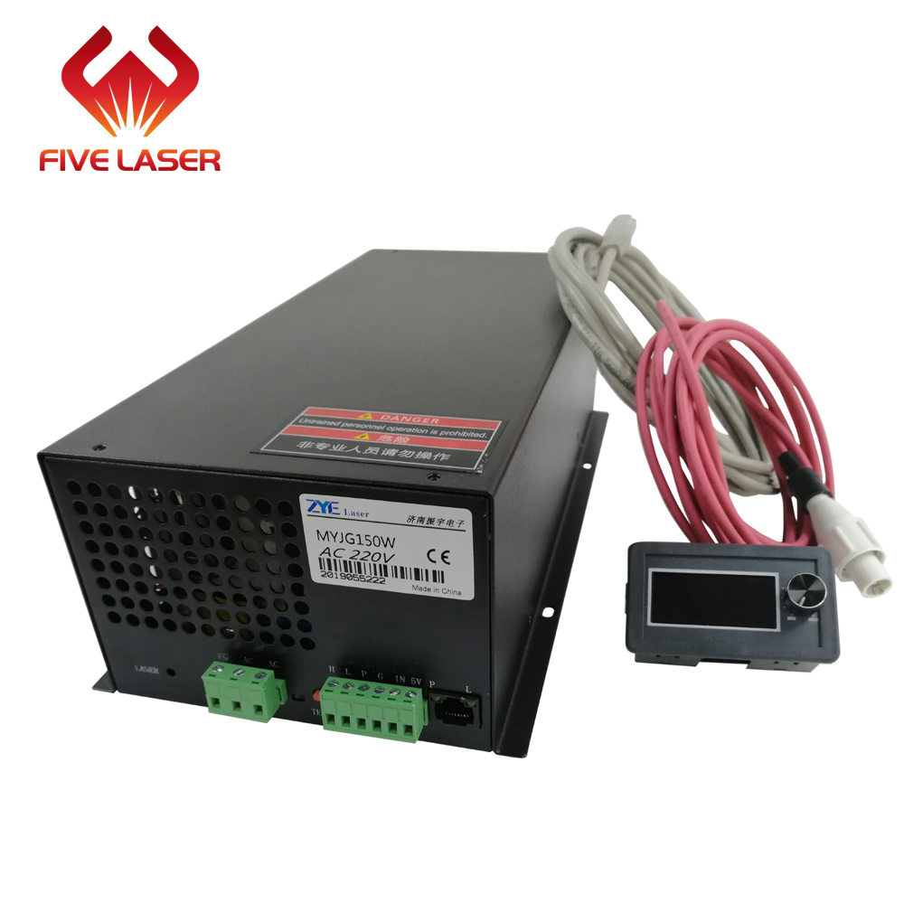 130w Laser Power Supply MYJG150W With LCD Display Current Meter