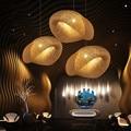 Kreative persönlichkeit rattan bambus kronleuchter Südostasien stil bauernhaus club hotel lobby dekoration lampen ZP420101-in Pendelleuchten aus Licht & Beleuchtung bei