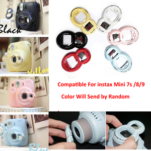 Image 4 - For Fujifilm Instax Mini 8 Mini 9 Instant Photo Camera PU Leather Case Bag Cover + 20 Sheets Instax Mini Films + Accessories Set