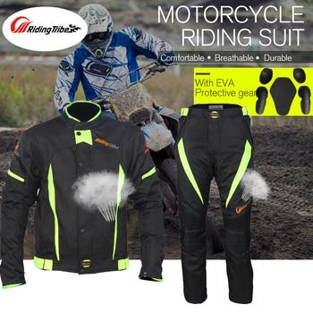 Chaqueta de Moto de Motocross de la tribu de equitación, chaqueta de Moto de cross, equipo de protección, chaqueta de Moto de carretera JK37