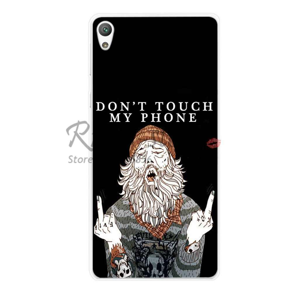 Soft Silicone TPU Cover Case For Sony Xperia Z Z1 Z3 Z5 Compact Mini Z2 M2 M4 C4 SP E3 E5 Z L36h XA Phone Funda Cases Back Cover