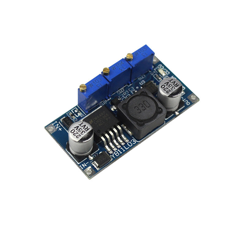 LM2596S DC-DC Constant Current Module LM2596 DC-DC 7V-35V Step-down Adjustable CC/CV Power Supply Module Adjustable Maximum 3A adroit dc dc cc cv buck converter step down 7 32v to 0 8 28v 12a adjustable constant voltage current power supply module 30s7327