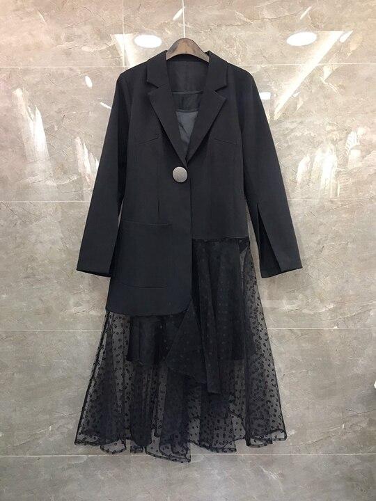 2019 Longues Top Doublure De Noir Manches Printemps Ourlet D'été Maille Suit0311 Et Filles Col Sling Jupe Nouvelles Costume À wxZxaqtE4Y