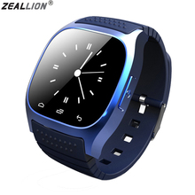 ZEALLION Smart Watch M26 Clock Sync Notifier Support Bluetooth Connectivity Pedometer For IOS Android Smartwatch PK DZ09 T08 A1