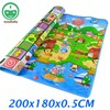 2 Meters Large Baby Crawling Mat Baby Play Mat Baby Play Carpet Doulble Side Baby Activity Mat Cartoon Kids Play Rug PX02