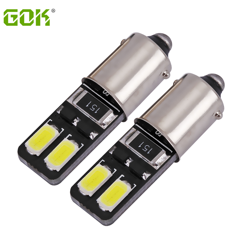 External Light LED Canbus bax9s Ba9s led 4Smd 5730 Led Bulb Vehicle Car T10 T4W led