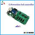 C-power2200 simples e dupla cor led mover controlador de sinal cartão lumen led cartão