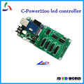 c-power2200 single and dual color led moving sign controller card lumen led card