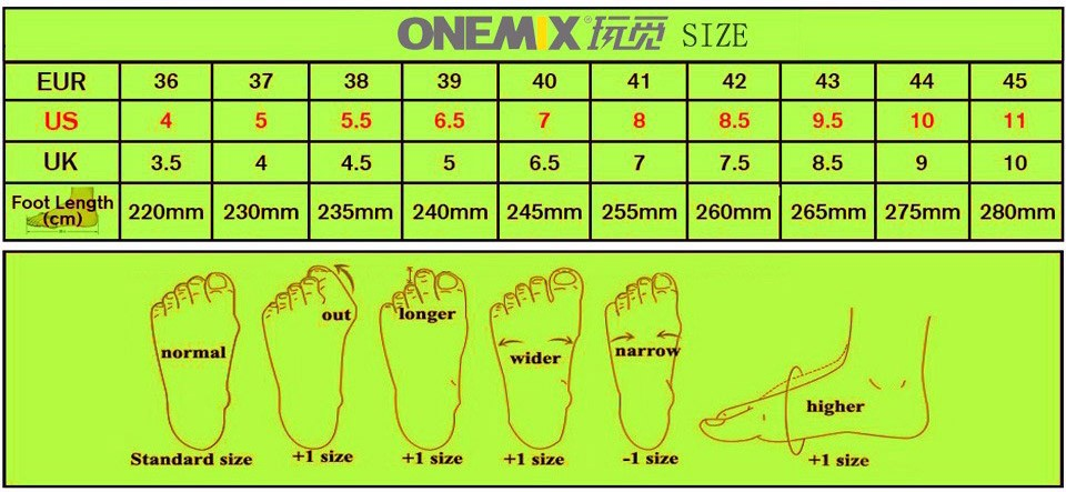 Onemix Running Shoes Men Sneakers For Women Sport Shoes Athletic Zapatillas Outdoor Breathable Original Shoes For Hombre Mujer 1