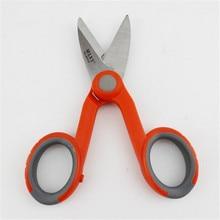 10pcs/lot  Aramid Scissors Fiber Optic Pigtail Jumper Kevlar Scissors Kevlar Cutter Slip-resistant Scissors Free Shipping