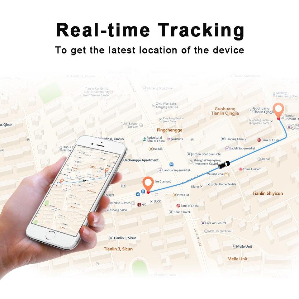 Новый стиль GPS трекер онлайн система слежения + ручной мини трекер для пожилых людей и детей слежения - 3