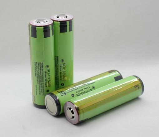 4 pçs/lote Nova Panasonic 18650 NCR18650BE 3200mah Original Protegido 3.7v Li-ion Bateria Recarregável Baterias Para e-cig com PCB