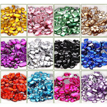 Mix size 100pcs bag sew on Rhinestone Sew On Acrylic Flatback mix shape  Gems Strass Stones For Clothes Dress Crafts SOWOO 9839976fff44