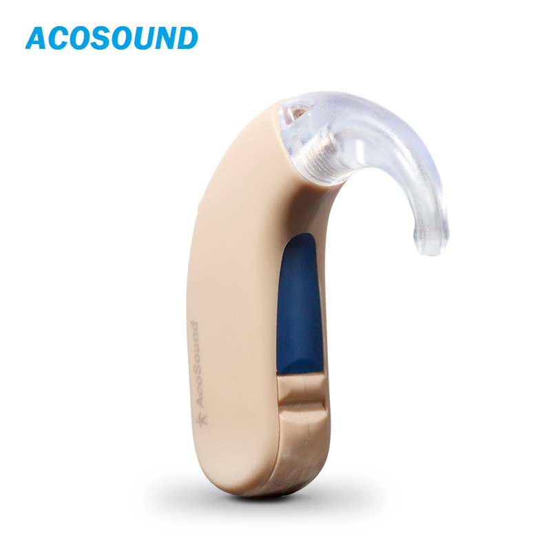 Acosound 210BTE Digital Hearing Aids Deaf Hearing Aid Sound Amplifier BTE Ear Aids Hearing Amplifier Ear Care Tools analog bte hearing aid deaf sound amplifier s 288 deaf aid with digital processing chip free shipping