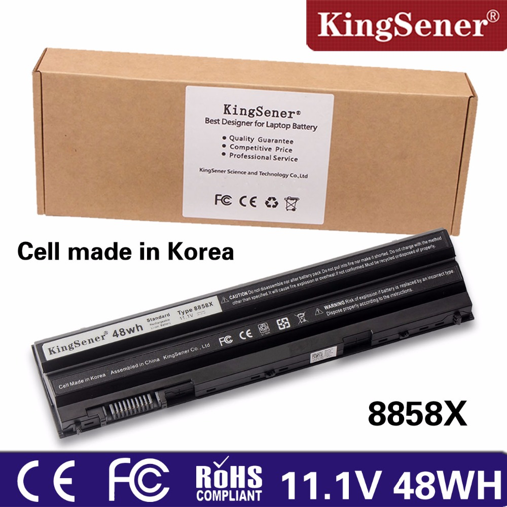 KingSener Korea Cell 8858X Battery for DELL Vostro 3460 3560 V3460D V3560D for DELL Inspirion 5520 7720 7520 5720 5420 5425 5525 jigu laptop battery for dell 8858x 8p3yx 911md vostro 3460 3560 latitude e6120 e6420 e6520 4400mah