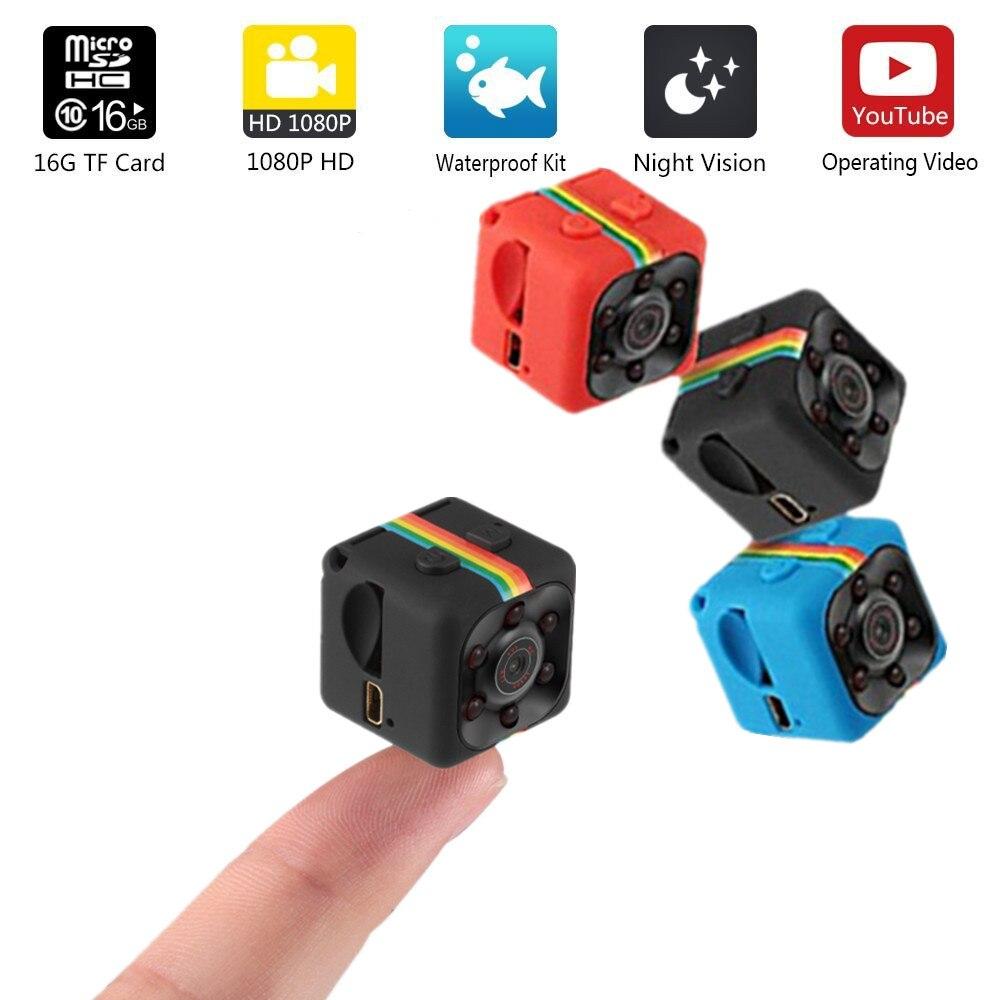 SQ11 Micro Caméras sq 11 mini Caméra HD 1080 P Maison De Voiture CMOS de Vision Nocturne Caméscope mini cam DVR DV Enregistreur De Mouvement Caméscope