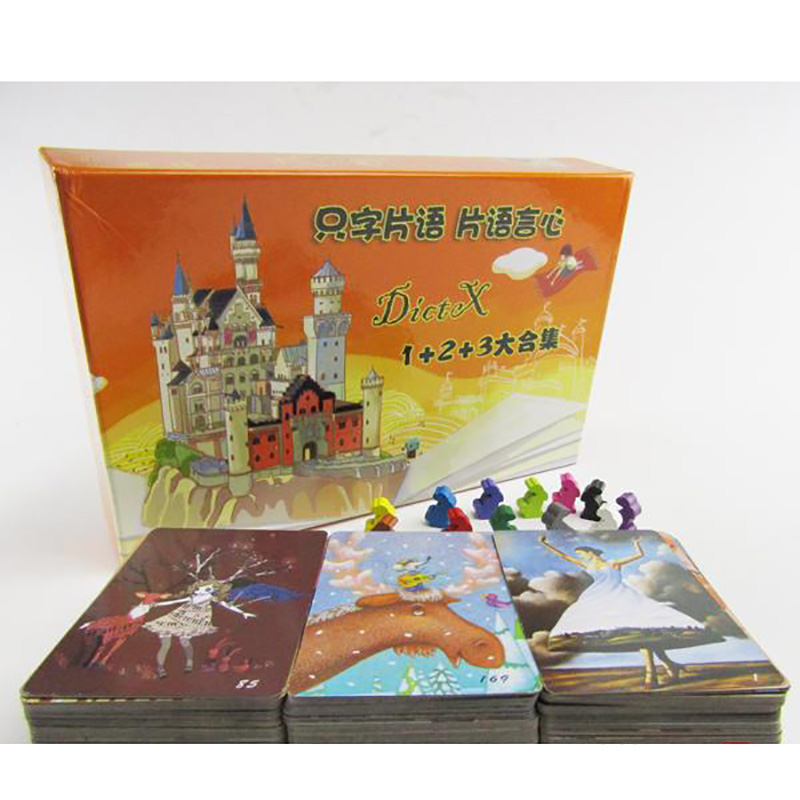 Dixit Series 1+2+3+4+5+6+7 Board Game 3-6 Players For Family/Party/Gift Best Gift Funny Game