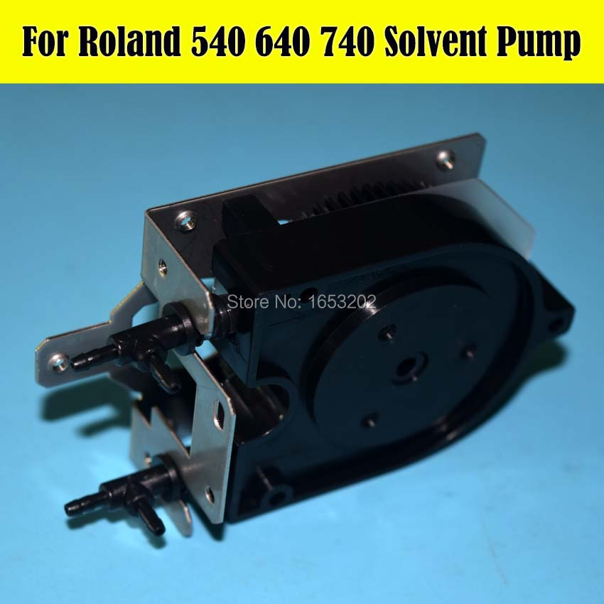 1 PC NEW Original Solvent Ink Pump For Roland SC540 545 SJ 540 640 645 740 745 SJ 1000 1045 XJ 540 640 XC XJ SC VP Printer roland vp 540 rs 640 vp 300 disk raster strip 360lpi 1000002162