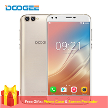 DOOGEE X30 5.5 Inch Mobile Phone Android 7.0 Celular 2GB RAM 16GB ROM Quad Core Quad Camera 8.0MP+8.0MP 3360mAh 3G Smartphone