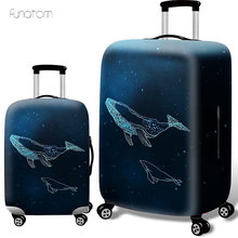 whaleprint Thicken Luggage Protective Cover 18-32inch Trolley Baggage Travel Bag Covers Elastic Protection Suitcase Case
