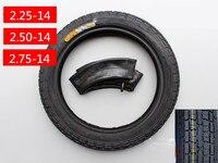 1 pcs 2.25-4/2. 50-4/2. 75-4 pneus de Motocicleta elétrica da motocicleta pneus de bicicleta interior + tubo de ter peças Da Motocicleta