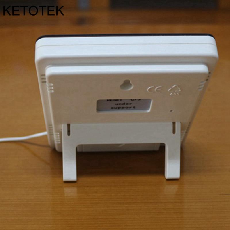 Ketotek Termómetro digital Higrómetro LCD electrónico Medidor de - Instrumentos de medición - foto 3