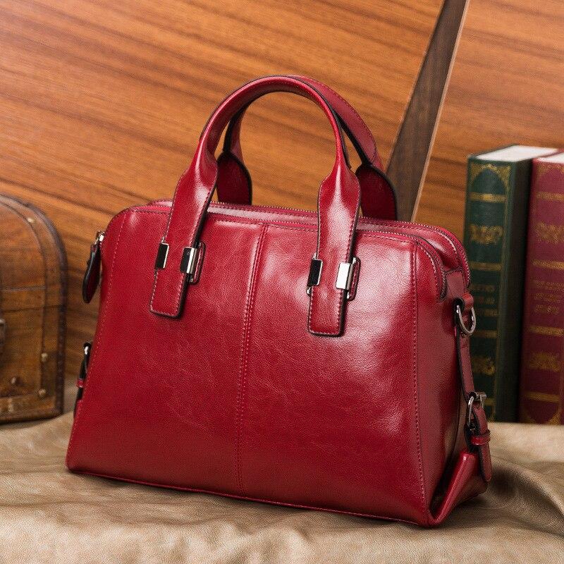 Véritable cuir de vache dames sacs à main de haute qualité femmes en cuir véritable sac fourre-tout Messenger sacs Designer luxe sac à bandoulière femme