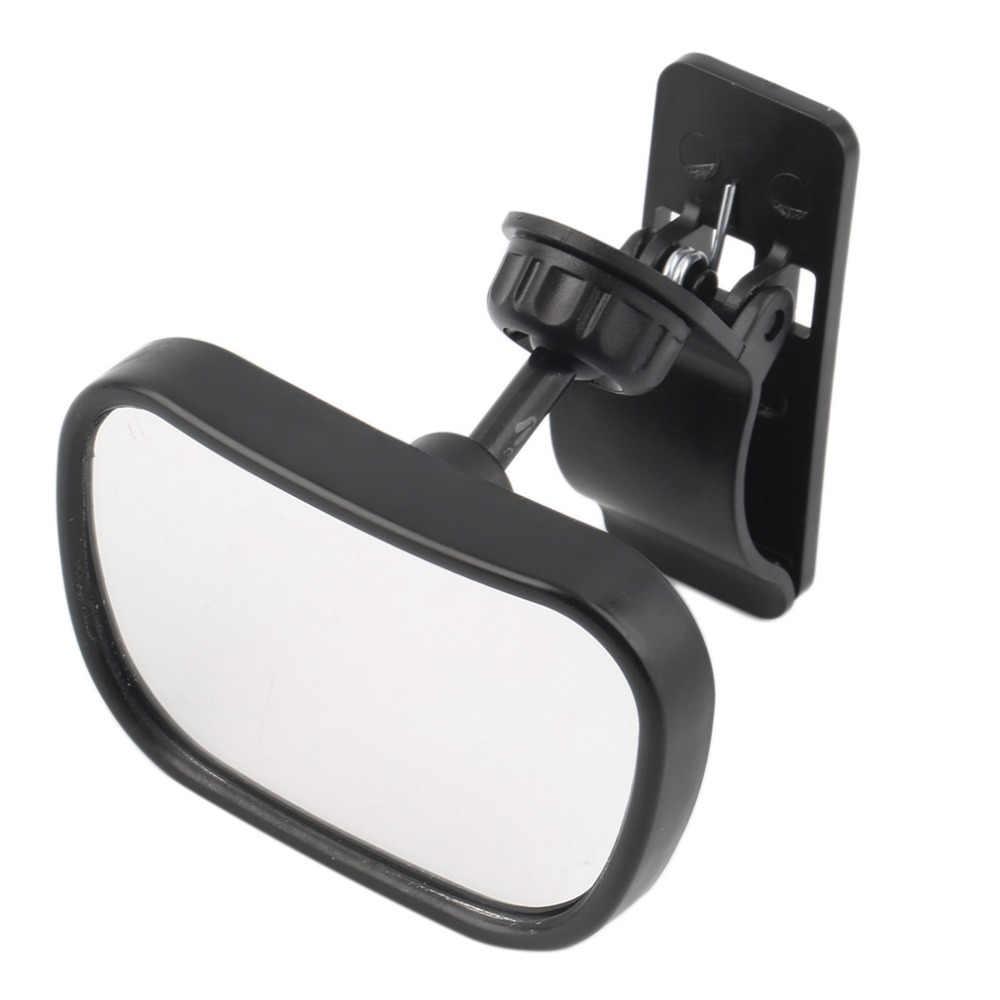 Nuevo espejo de asiento trasero ajustable para coche de Tirol, espejo retrovisor para espacio trasero para bebés, Monitor de seguridad cuadrado para bebés