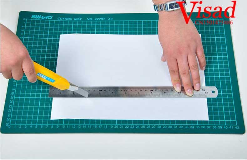 Pvc Cutting Mat A2 Craft Dark Green Patchwork Tools Craft Cutting Board Cutting Mats For Quilting 45*60cm