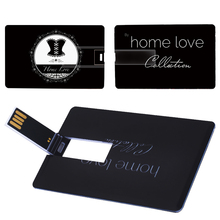 New Real Capacity Credit Card 64GB Customs personal photo and Business logo Card Usb Flash Memory Stick Flash Available Free