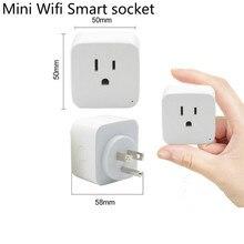Inteligentne gniazdo WiFi inteligentna wtyczka Tuya Smart życie App z nami wtyczka przełącznik zdalnego sterowania Alexa Google domu Mini IFTTT obsługuje 2.4 GHz sieci