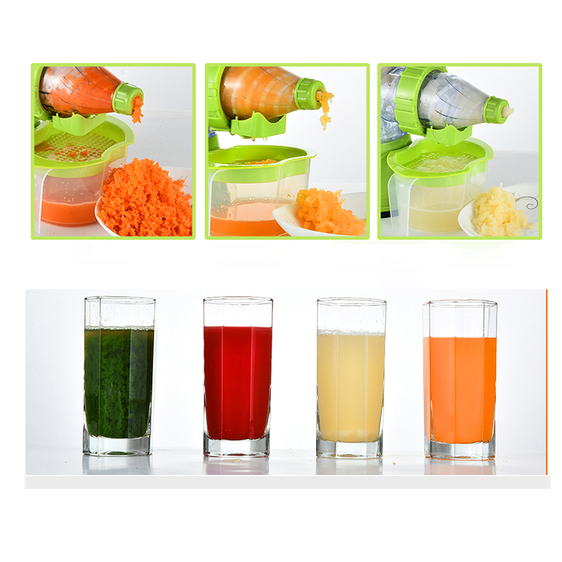 Slow Juicer Ice Cream : Hand juicer fruit vegetable tools multifuctional fruit squeezer hand juicer machine ice cream ...