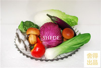 High quality artificial fruits and vegetables set b3 fake fruit bread artificial food model props Min. Order US$11