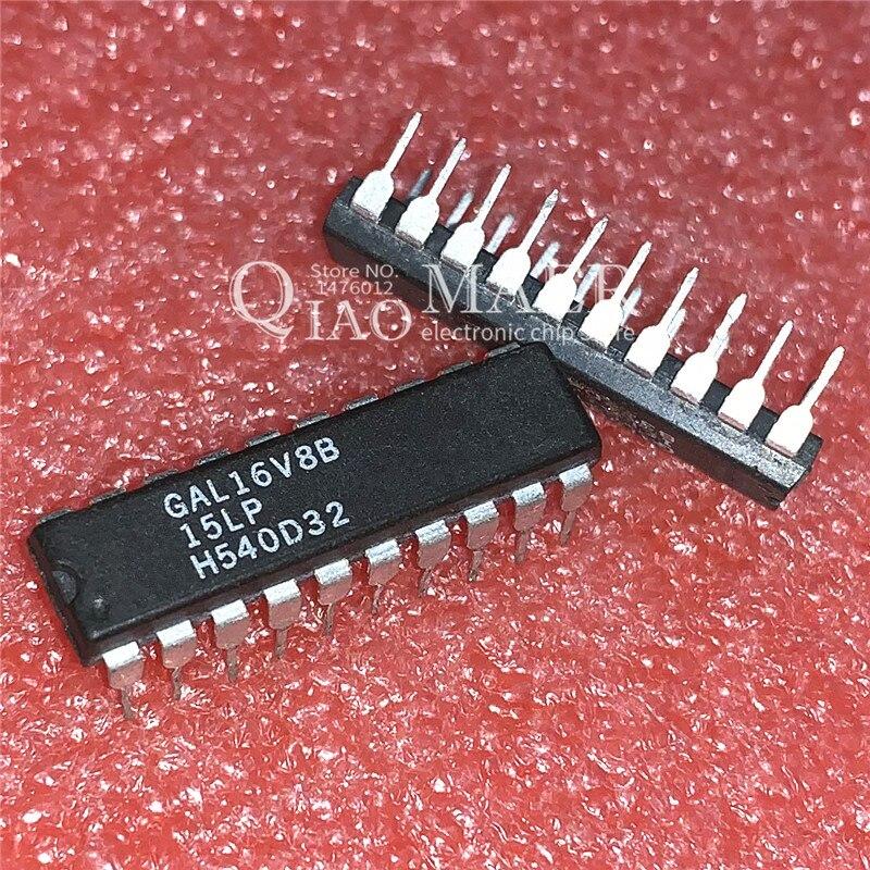 5 x GAL16V8B-15LP GAL16V8B DIP20 HIGH PERFORMANCE E2CMOS PLD