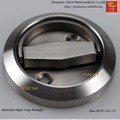 Stainless Steel Recessed Handle door Cup Handle Flush handle