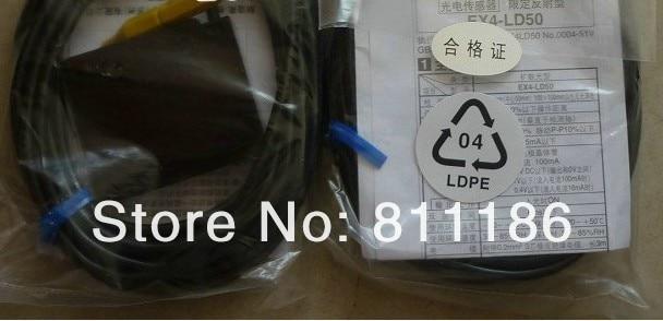5pcs/lot photoelectric sensor EX4-LD50 is new in stock